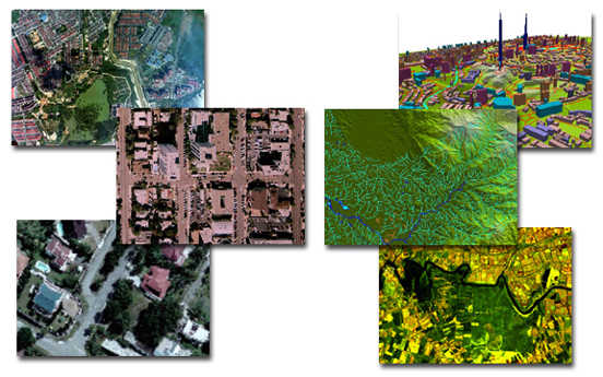 and example of aerial photogrammetry