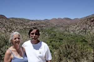 john and his wife claudia in arizona